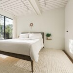 Image of the master bedroom of the Connect 2 ADU by Connect Homes.