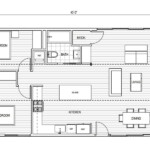 Floorplan diagram of the Connect 3 ADU by Connect Homes.