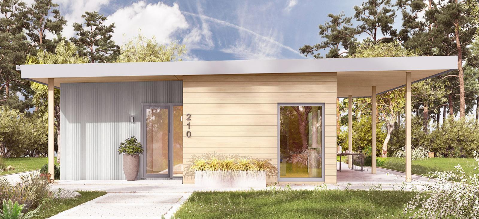 Dvele modern prefab homes and ADUs.