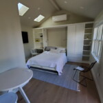Digz 275 ADU interior with built-in storage and Murry bed.