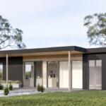 Angora modern cottage modular small home or ADU by Dvele.