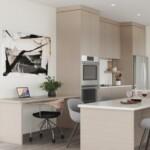 Angora modular mini home kitchen.