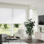 Image of the interior living room area of the prefab modular Angora model by Dvele.