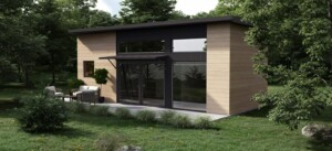 Dvele Baldwin prefab modular mini home ADU.