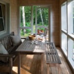 GO Home by GO Logic 1,000 ft² plan A screen porch.